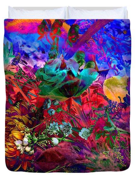 Floral Dream Of Summer Duvet Cover