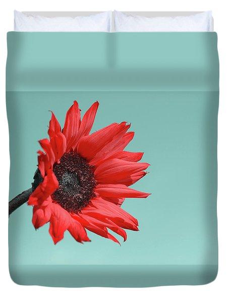 Floral Energy Duvet Cover