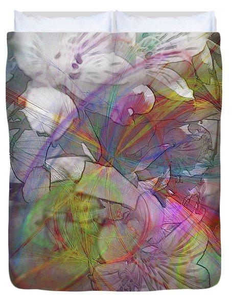 Floral Fantasy Duvet Cover by John Robert Beck