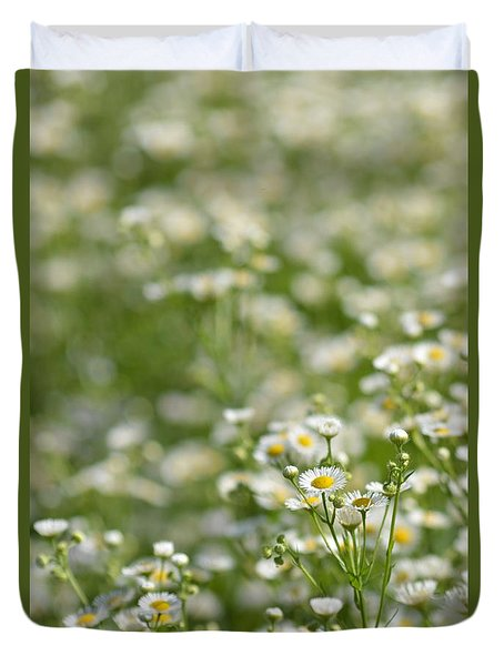 Floral Field #1 Duvet Cover