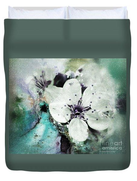 Floral Haze Duvet Cover