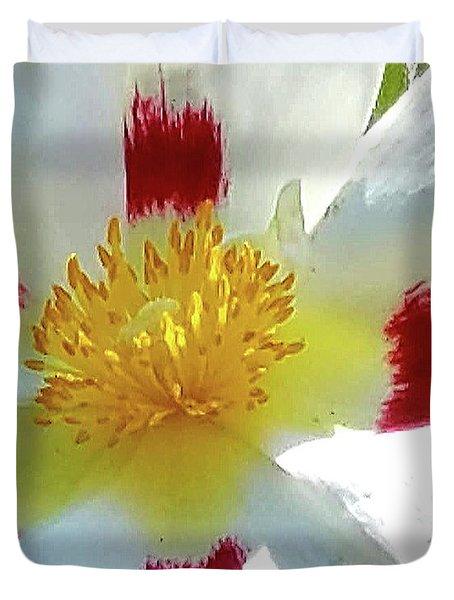Floral Impressions Duvet Cover