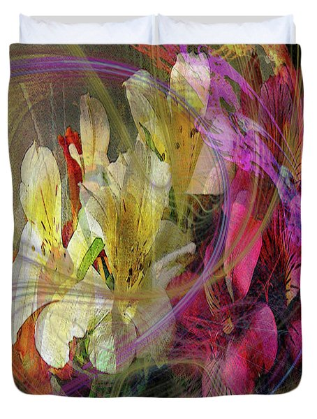 Floral Inspiration Duvet Cover by John Beck