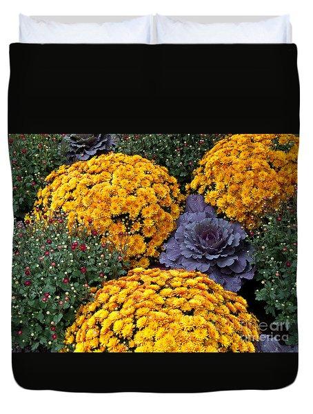 Floral Masterpiece Duvet Cover by Ann Horn