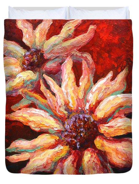 Floral Mini Duvet Cover