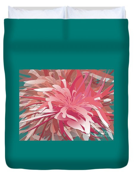 Floral Profusion Duvet Cover