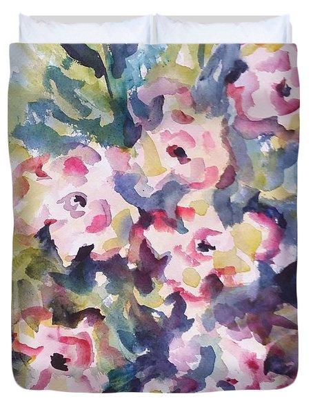 Floral Rhythm Duvet Cover