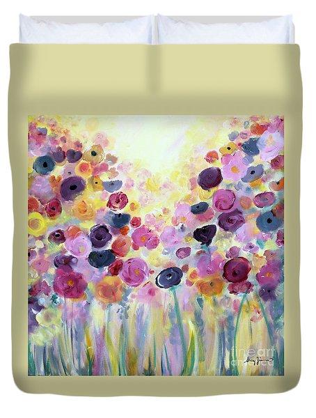 Floral Splendor IIi Duvet Cover