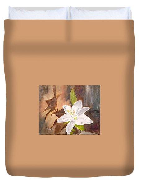 Floral-still Life Duvet Cover