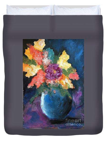 Floral Study 1 Duvet Cover