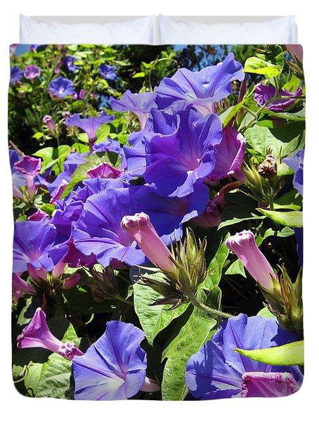 Floral Tango Duvet Cover by Kurt Van Wagner