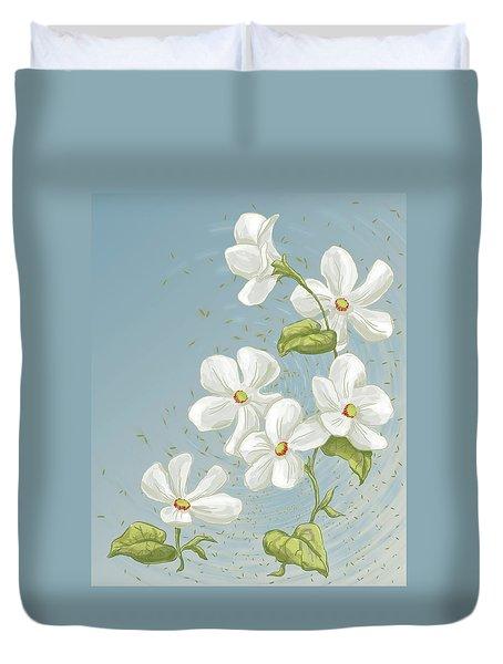 Floral Whorl Duvet Cover