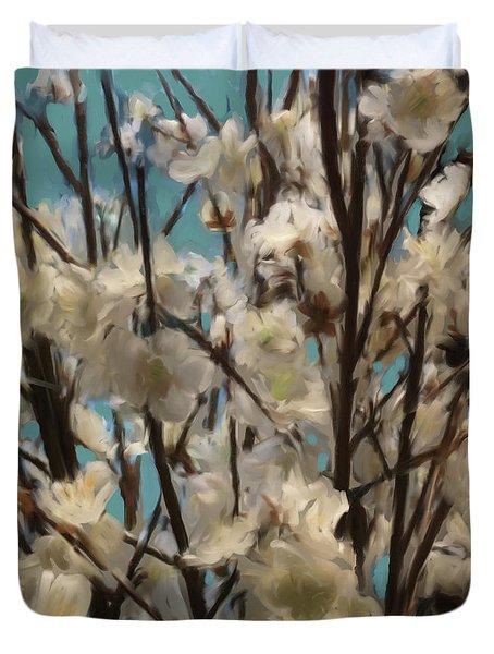 Floral02 Duvet Cover