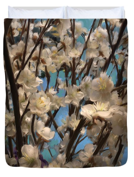 Floral08 Duvet Cover