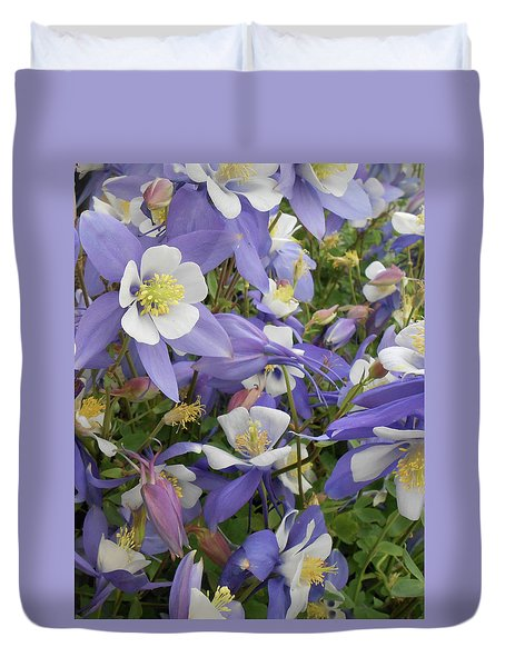 Floral3 Duvet Cover by Cynthia Powell