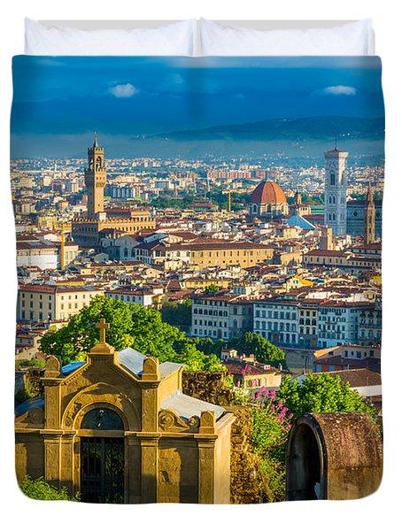 Florentine Vista Duvet Cover