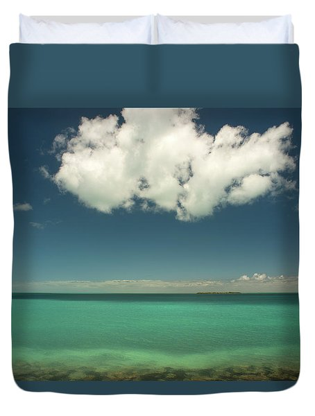 Florida Bay Duvet Cover