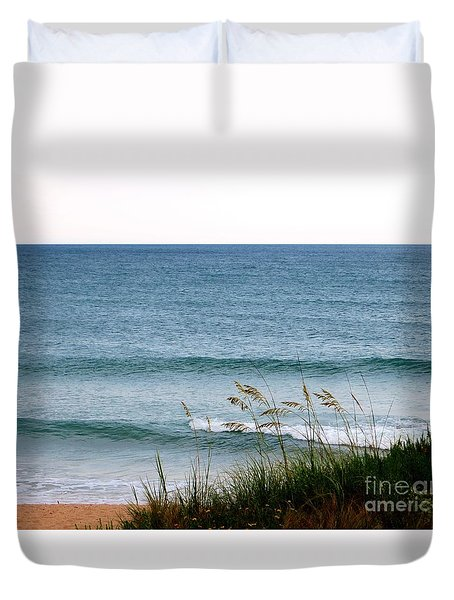 Florida Coast  Duvet Cover by Tim Townsend