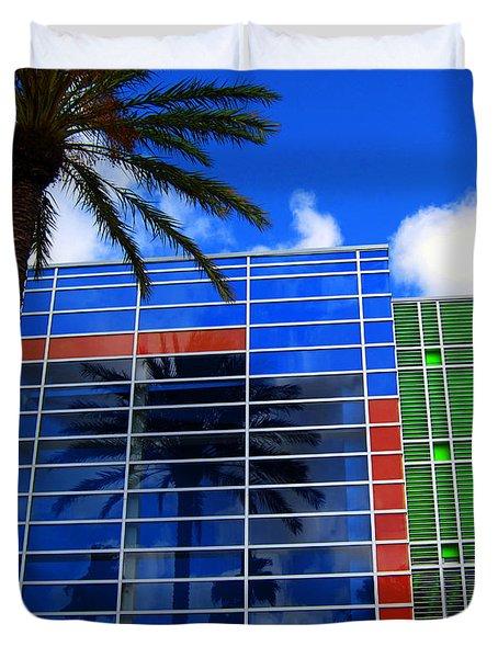Florida Colors Duvet Cover by Susanne Van Hulst