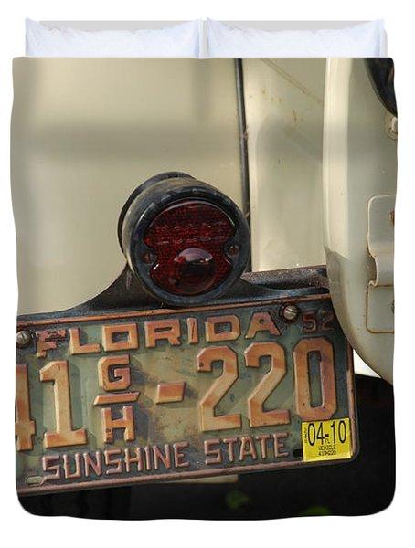 Florida Dodge Duvet Cover by Rob Hans