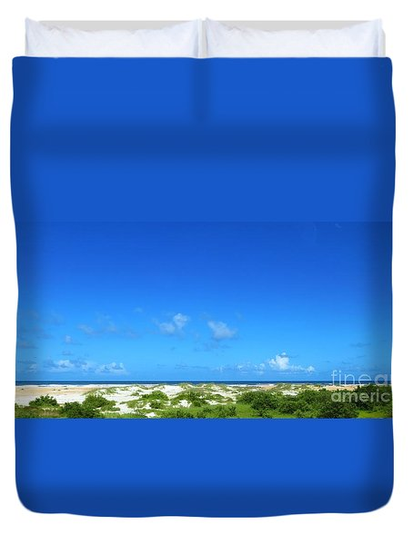 Florida East Coast Beach Duvet Cover