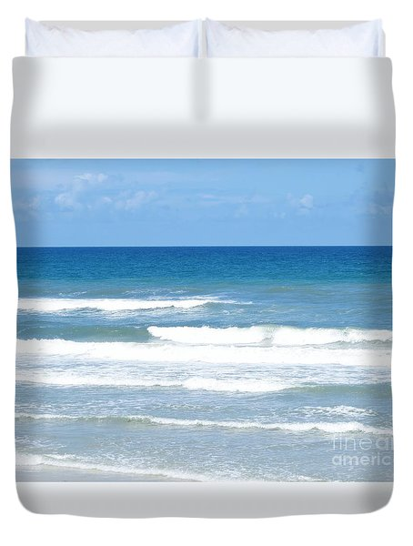 Florida East Coast Duvet Cover