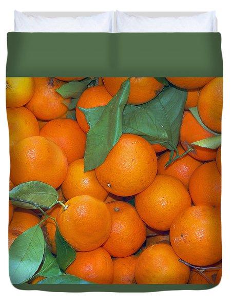 Florida Harvest Duvet Cover