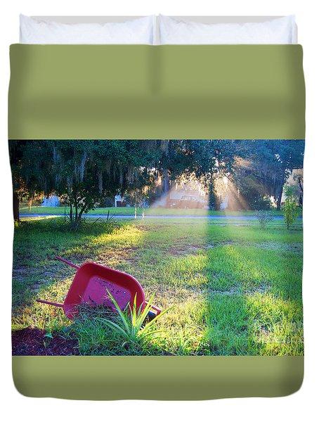 Florida Home Duvet Cover