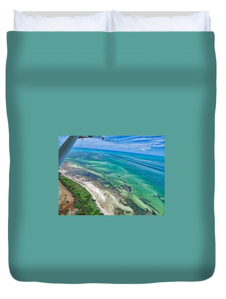Florida Keys Duvet Cover
