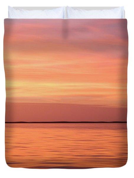 Florida Keys Sunset Impressions Duvet Cover
