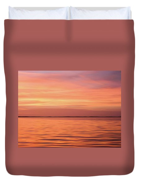 Florida Keys Sunset Impressions Duvet Cover