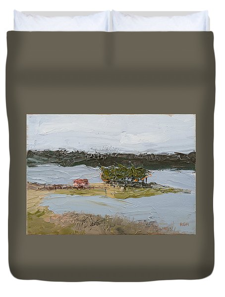 Florida Lake II Duvet Cover
