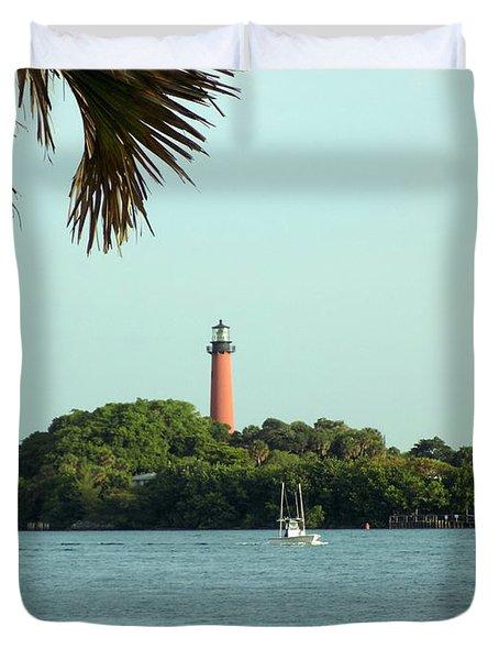 Florida Lighthouse 3 Duvet Cover