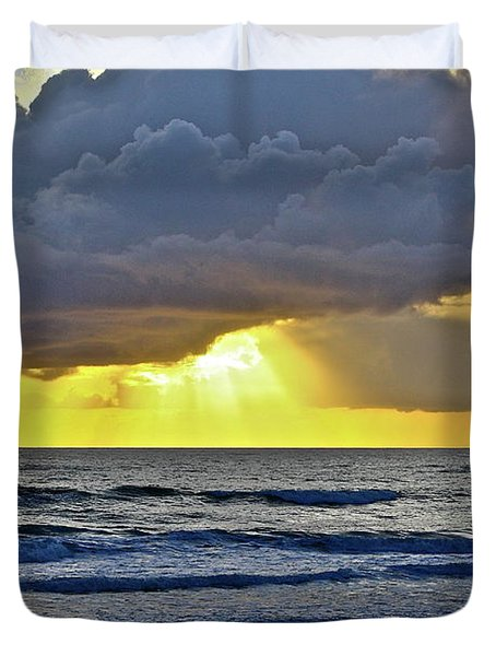 Florida Morning Duvet Cover