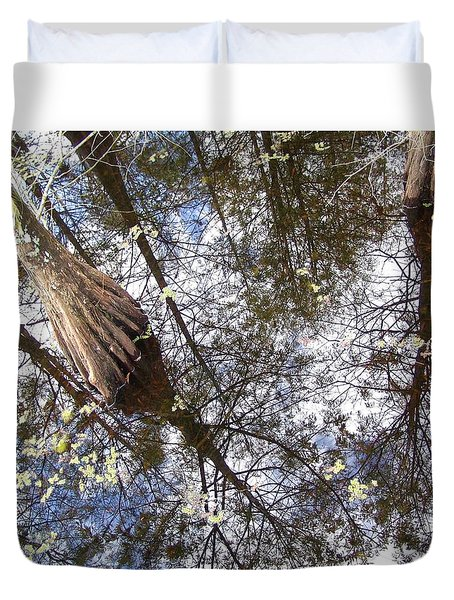 Florida Old Swamp Duvet Cover