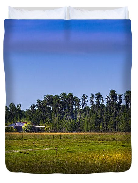 Florida Ranch Duvet Cover by Marvin Spates