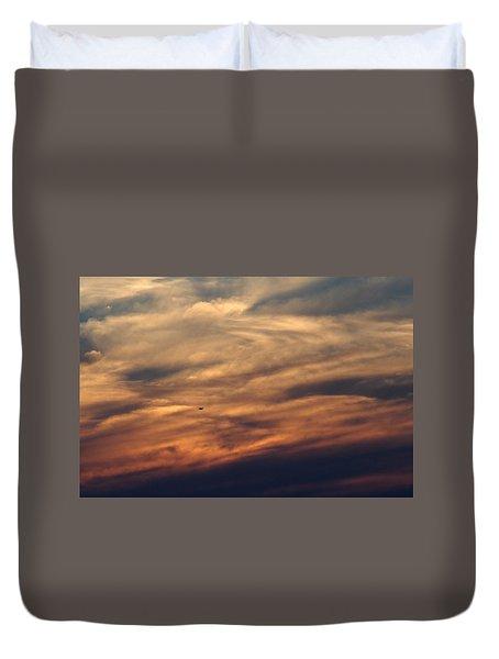 Florida Sunset 0052 Duvet Cover