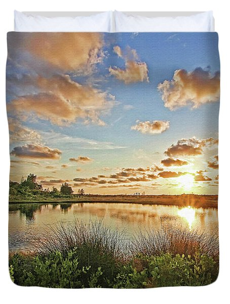 Florida's Natural Beauty Duvet Cover