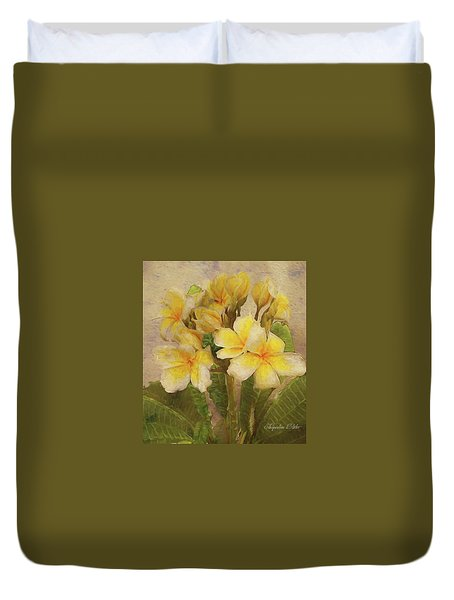 Floridian Bouquet Duvet Cover