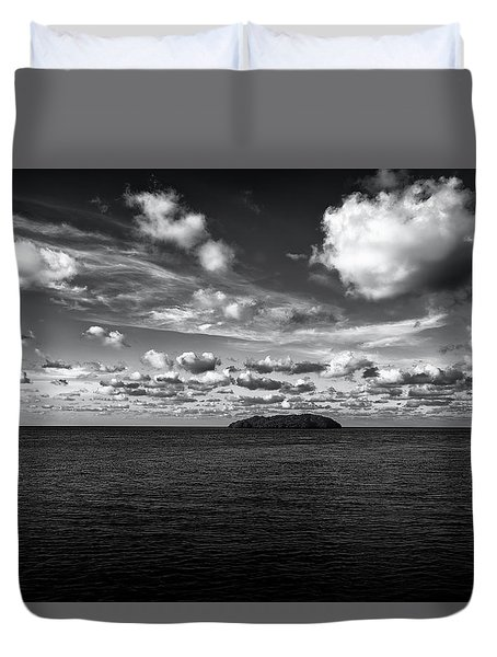 Duvet Cover featuring the photograph Floridian Waters by Jon Glaser
