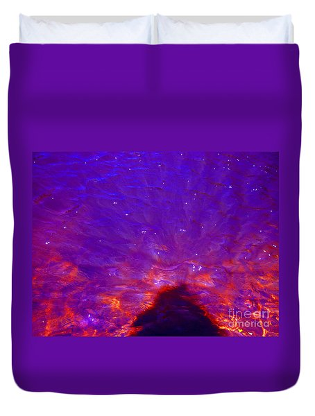 Flourescent Waters Duvet Cover