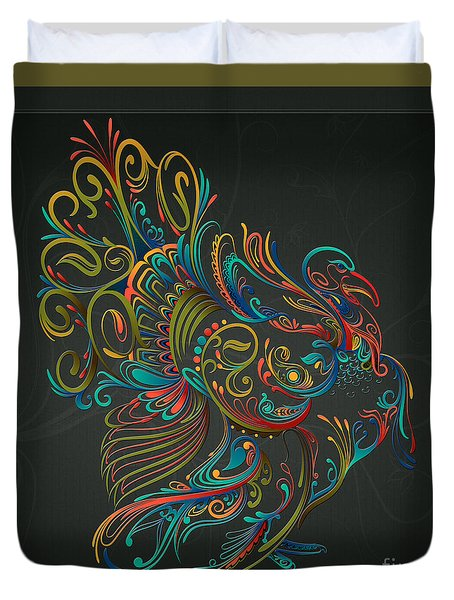 Flourish Turkey Duvet Cover