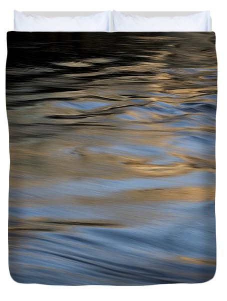 Duvet Cover featuring the photograph Flow by Kenneth Campbell