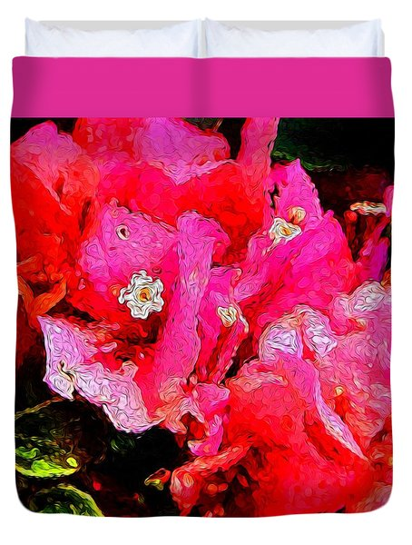 Flower 18 Version 2 Duvet Cover