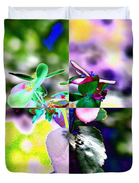 Flower 2 Duvet Cover by Tim Allen