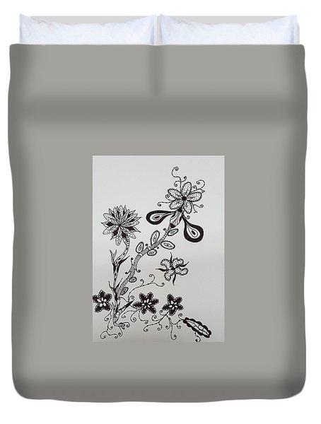 Flower 8 Duvet Cover