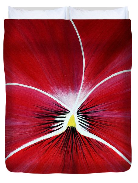 Flower Abstract 3 Duvet Cover