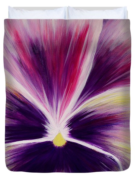 Flower Abstract Duvet Cover