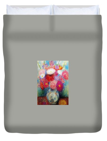 Flower Arrangement Duvet Cover