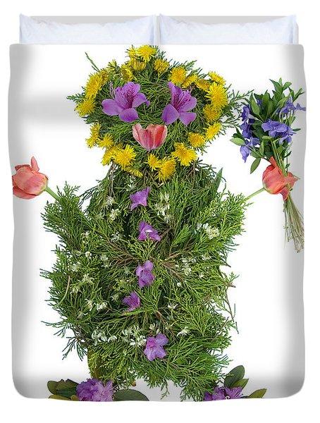 Flower Baby Duvet Cover